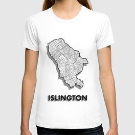 Islington - London Borough - Detailed T-shirt