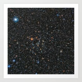 Star Cluster IC 4651 Art Print