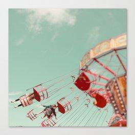 Fun Of The Fairground Canvas Print