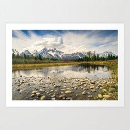 Grand Teton Fine Art Print Art Print