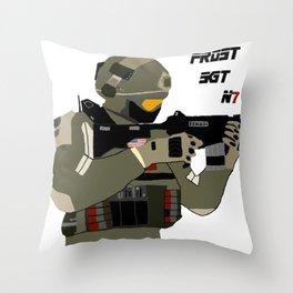 FROST SGT Throw Pillow