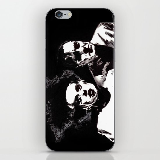 Dr Frankenstein and the Bride of the Monster iPhone & iPod Skin