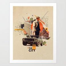 The City 1968 Art Print