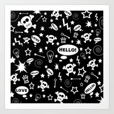 Hello Love! Art Print