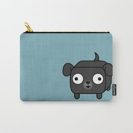 Pug Loaf in Black Carry-All Pouch