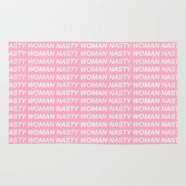 Nasty Woman Print Rug