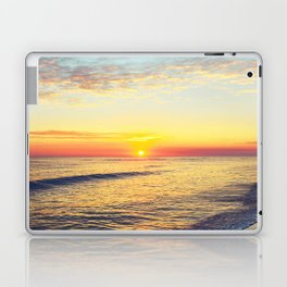 Summer Sunset Ocean Beach - Nature Photography Laptop & iPad Skin