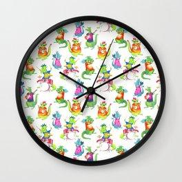 Dragon Band Wall Clock