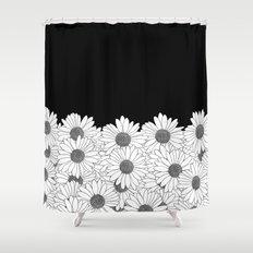 Daisy Boarder Shower Curtain