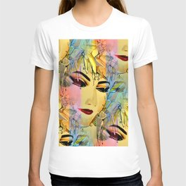 Sensual Female Portrait  Watercolor T-shirt