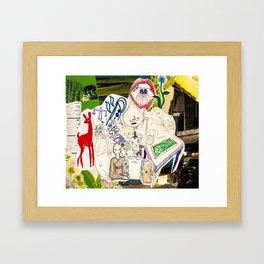 Collage 26 Framed Art Print