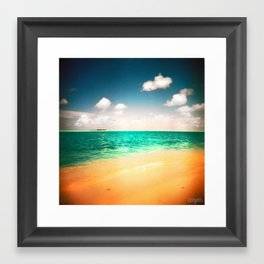 Maldives 01 02 Framed Art Print