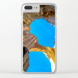 New Mexico Arch Clear iPhone Case