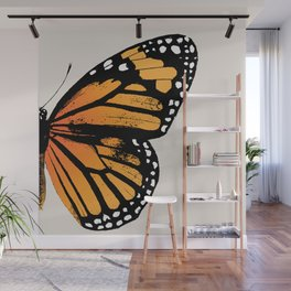 Monarch Butterfly   Right Butterfly Wing   Vintage Butterflies   Wall Mural
