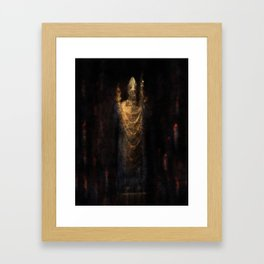 Benedictionem meam vobis Framed Art Print