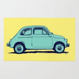 Fiat 500 Rug