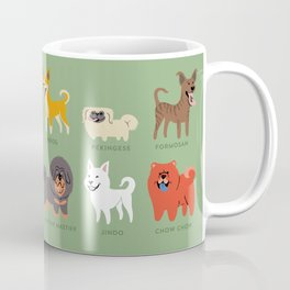 ASIAN DOGS Coffee Mug
