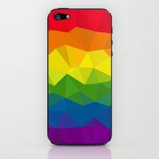 Low poly rainbow iPhone & iPod Skin