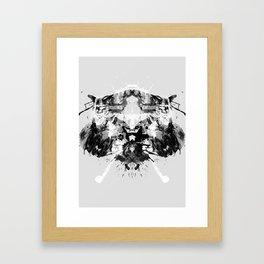 Psychological Test Framed Art Print