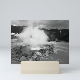 Hot spring Mini Art Print