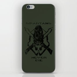 Spartans Never Die  |  Halo iPhone Skin