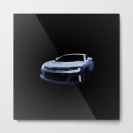 Car in a Blur - 215 Metal Print