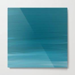 Turquoise Acrylic Metal Print