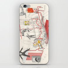 Chart Of Lubrication Points Of D-103 Engine iPhone & iPod Skin