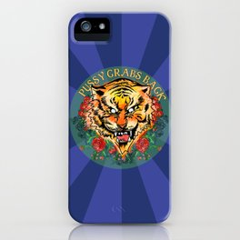 Pussy Grabs Back iPhone Case