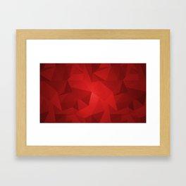 Red Kryptonite Framed Art Print