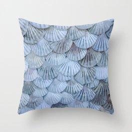 Elegant Seashells Throw Pillow