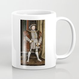 Portrait of Henry VIII - After Hans Holbien the Younger Coffee Mug