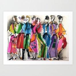 colourfu6 Art Print