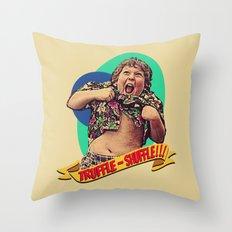 Truffle Shuffle! Throw Pillow