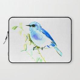 Mountain Bluebird homde decor Laptop Sleeve