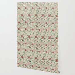 William Morris Cray Floral Pre-Raphaelite Vintage Art Nouveau Pattern Wallpaper