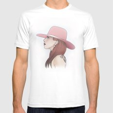 Joanne // LadyGaga Mens Fitted Tee White MEDIUM