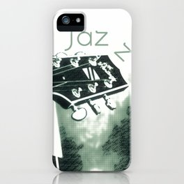 Double bass and Guitar iPhone Case