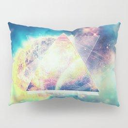 Awsome collosal deep space triangle art sign Pillow Sham
