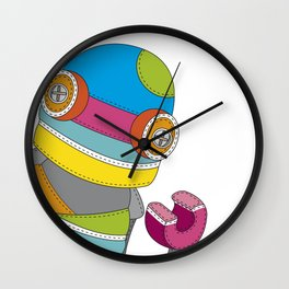 Raggedyrobo Wall Clock
