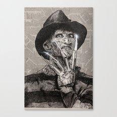 freddy krueger Canvas Print