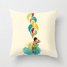 Hide & Seek Part 1 Throw Pillow