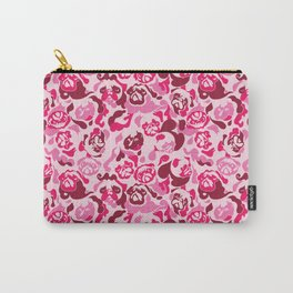 Pug Camouflage Pink Carry-All Pouch