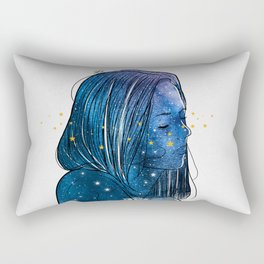 Stars arond. Rectangular Pillow