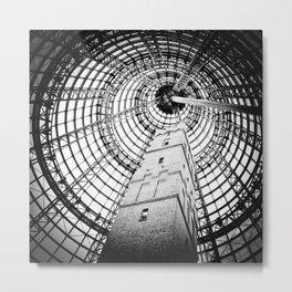 Shot Tower Metal Print