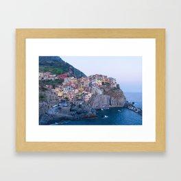 Manarola, Cinque Terre Framed Art Print