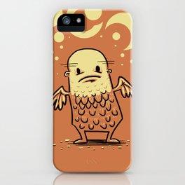 Bald Angel iPhone Case