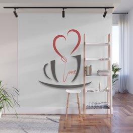 Coffee Love Wall Mural