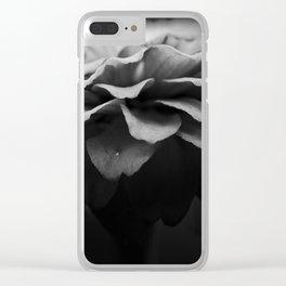 petal pusher Clear iPhone Case