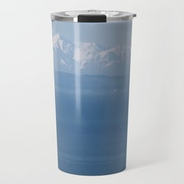 Alps Across the Lake Travel Mug